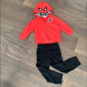 Gap boys junk food Spider-Man hoodie size 5